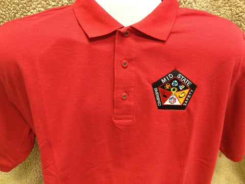 Embroidered company shirts