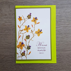 Birthday Card - Psalm 16:11