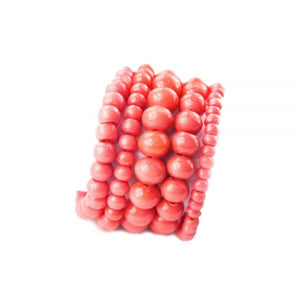 Bracelet - Tribal Meets Regal (Coral)