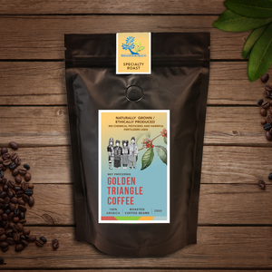 Golden Triangle Coffee Beans (Wet Processed) – 250g
