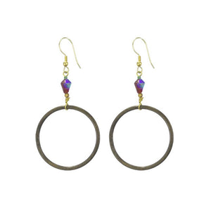 Earrings - Tuscan Vineyards