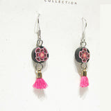 Earrings - PolyHope Tassel Floral