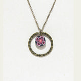 Necklace - PolyHope Halo Floral