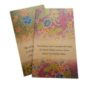 Sticky Note Pad - Batik Series