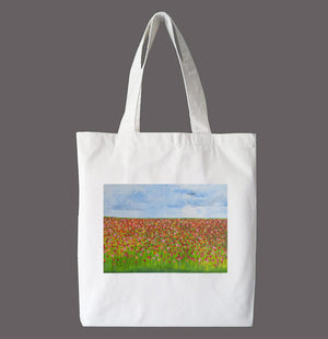 Lifester Tote Bag - Flower Field