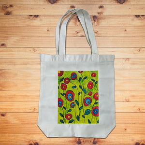Lifester Tote Bag - Green Vines