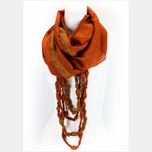 Scarf - Eternal Beaded