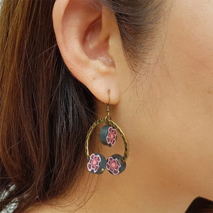 Halo Floral Earrings