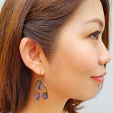 Earrings - PolyHope Halo Floral