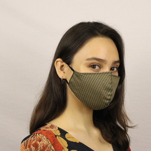 Anti-viral, Mediterranean-chic Fashion Masks