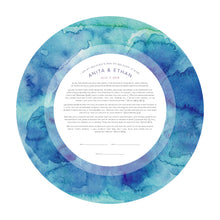 Load image into Gallery viewer, Ocean Wedding Vows Print