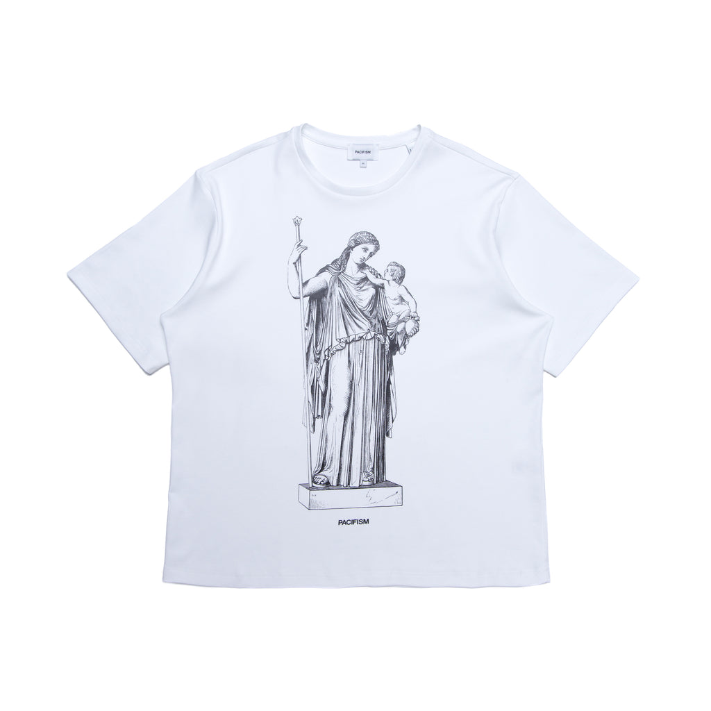 PEACE GODDESS TEE WHITE