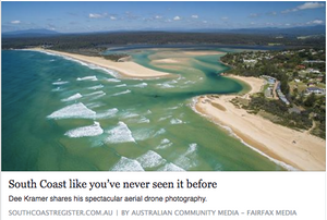 'South Coast as you've never seen it before' by Tareyn Varley | 15 April 2016 South Coast Register Online