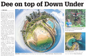 'Dee on top of Down Under' by Greg Ellis | 30 March 2016 Illawarra Mercury