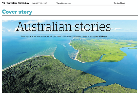 'Australian Story' by Sue Williams | 22 January 2017 Traveller on Sunday