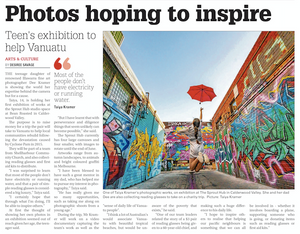 'Photos hoping to inspire' by Desiree Savage | 13 May 2019 Illawarra Mercury
