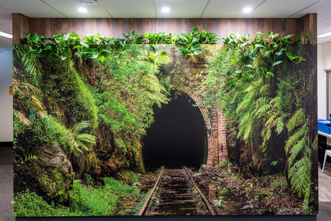 Helensburgh Tunnel Wall Art