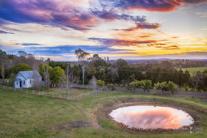 Sunset at Kangaloon, Southern Highlands (AD088R)