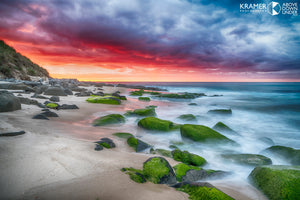 Martha Lavinia Beach at Sunset, King Island