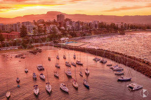 Belmore Basin Sunset, Wollongong