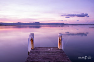 "Jetty, Lake Illawarra - 20x30"" Canvas"