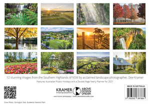 Southern Highlands 2021 Calendar