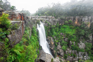 Carrington Falls, Budderoo National Park, Southern Highlands (AB093R)