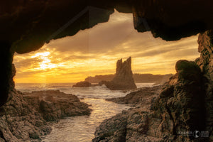 Cathedral Rocks Sunset, Kiama (AE021R)