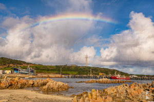 Currie Harbour Rainbow, King Island (KI571R)