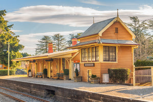 Exeter Railway Station, Southern Highlands