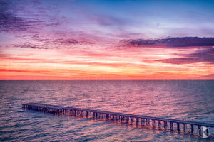 Naracoopa Jetty Sunrise, King Island (KI539R)