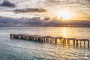 Naracoopa Jetty Sunrise, King Island (KI578R)
