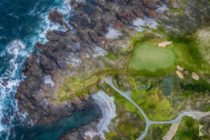 Ocean Dunes Golf from Above, King Island (KI511R)