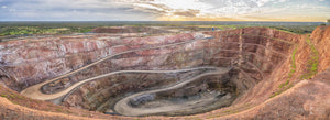 Open Cut Gold Mine, Cobar, Outback NSW (BO020P)