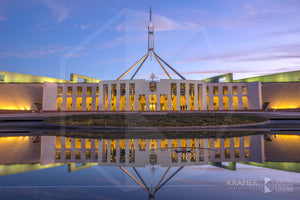 Parliament House 'Blue Twilight', ACT
