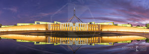 Parliament House 'Mauve Twilight', ACT