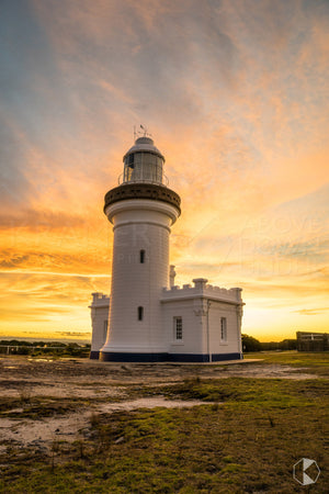 Point Perpendicular Lighthouse, Shoalhaven  (AF047VR)