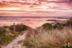 Porky Beach Sunset, King Island