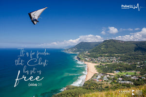 Word + Image: Galatians 5:1 - Stanwell Tops (WI009R)