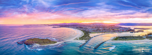 Sunset Aerial, Lake Illawarra (AD037P)