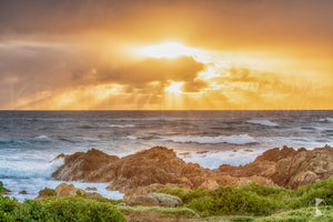Sunset Rocks, King Island