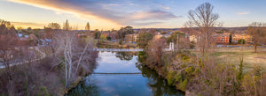 Suspension Bridge, Queanbeyan (AQ001P)