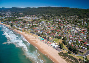 Thirroul Aerial, Wollongong