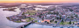 Tuncurry from Above, Central Coast (BC006P)