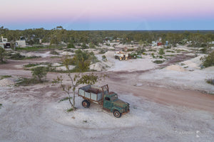 Work Truck, Lightning Ridge, Outback NSW (BO006R)