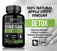 Load image into Gallery viewer, 100% Natural Raw Apple Cider Vinegar Pills