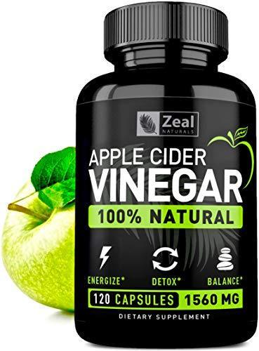 100% Natural Raw Apple Cider Vinegar Pills