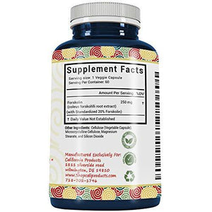California Products 100% Pure Diet Supplements