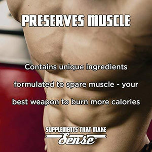 VINTAGE BURN Fat Burner - The First Muscle-Preserving Fat Burner Thermogenic Weight Loss Supplement