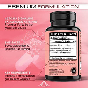 Keto | Ketosis Appetite Suppressing Diet Weight Loss Pills